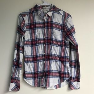 H&M Red, Blue and White Flannel